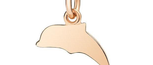 Delfino oro rosa - Portami con te