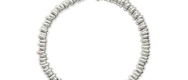 Bracciale rondelle argento