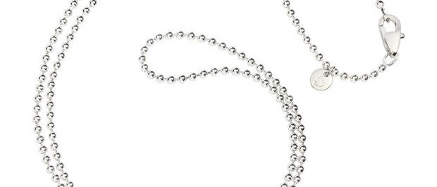 Collana bollicine argento