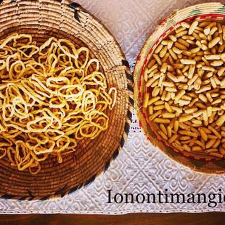 Lorighittas e Malloreddus ( pasta fresca