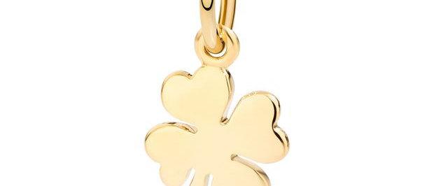 Quadrifoglio oro giallo - Uno su mille