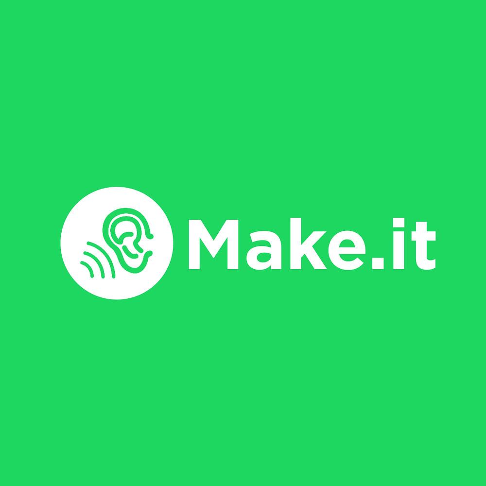Logo dell'azienda rivisitato in chiave grafica con sfondo verde