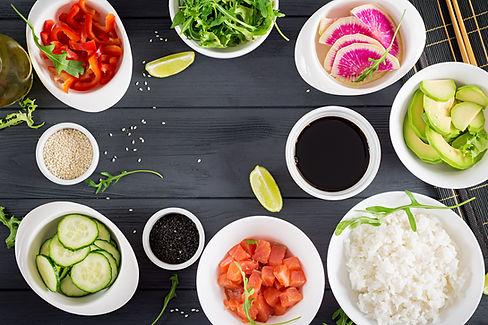 ingredients-for-cooking-hawaiian-salmon-