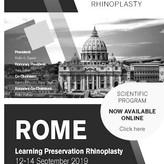 PRESERVATION RHINOPLASTIC ROMA SETTEMBRE