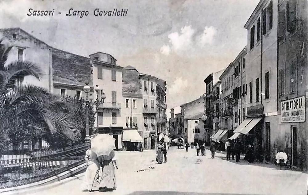 Largo Cavallotti - Sassari