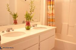 Dual Vanity Sinks in Master Bathroom