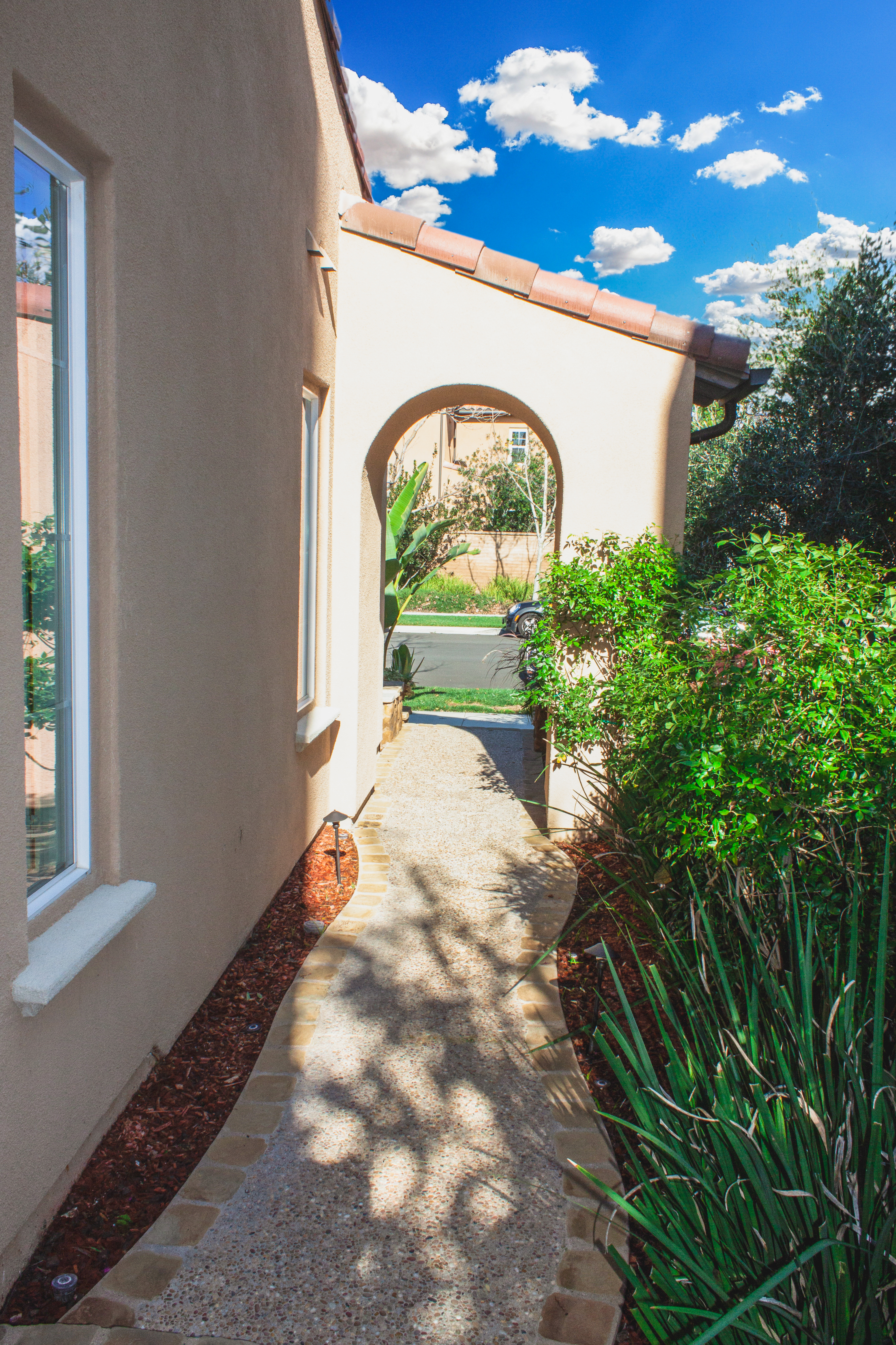 Walkway to the Home