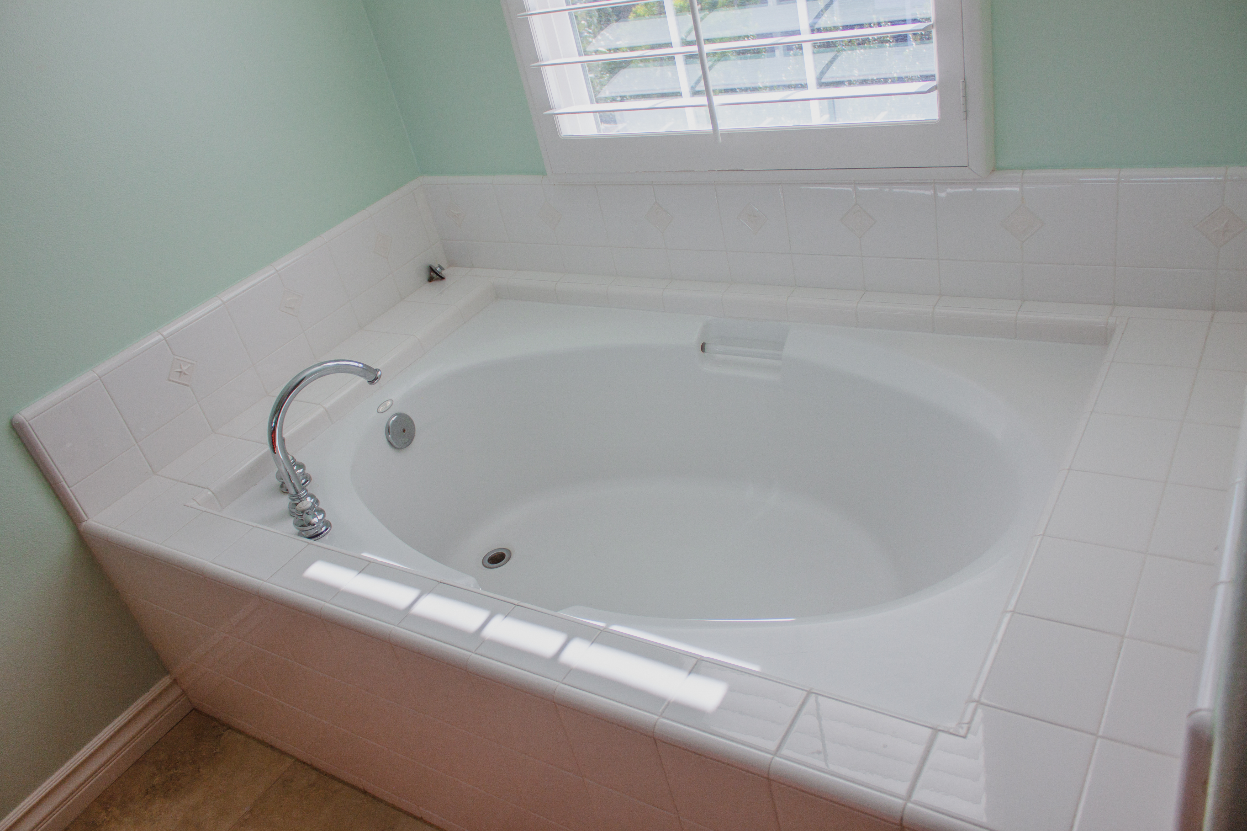 Separate Tub from Shower