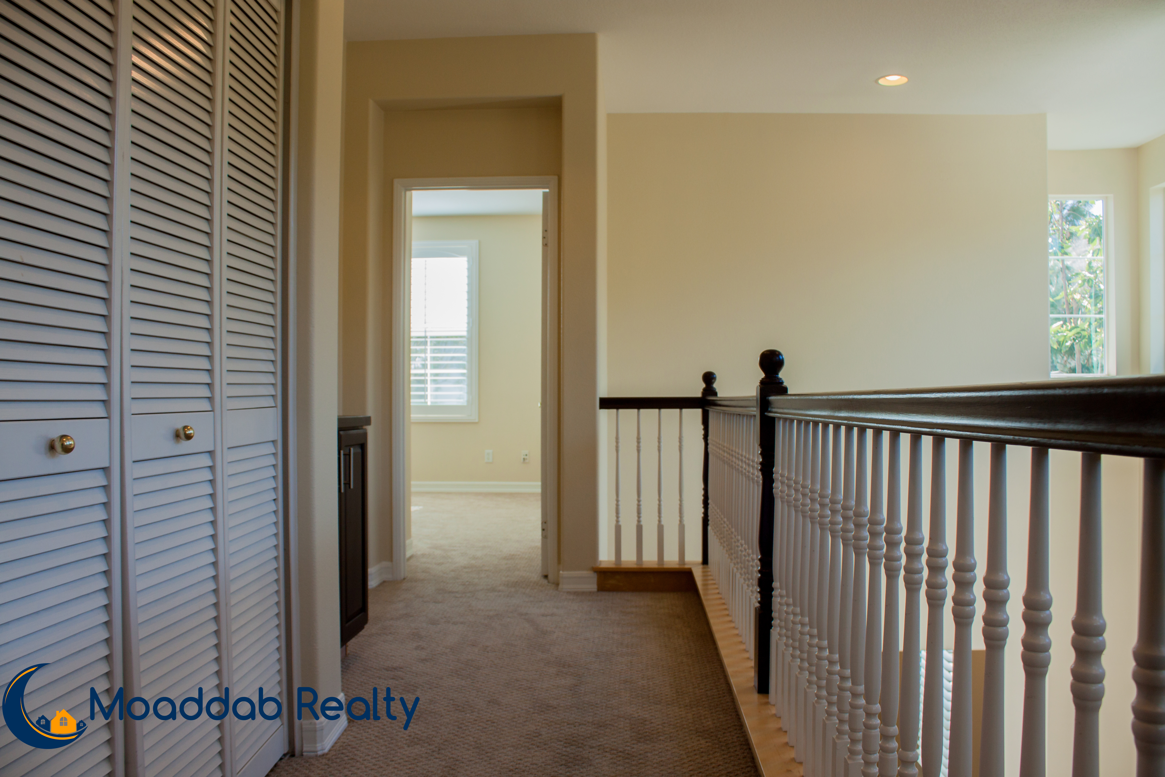 Laundry Area/Hallway to Master Bed..
