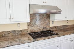 Custom Cabinets & Granite Countertop