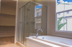 Master Bathroom and Closet View