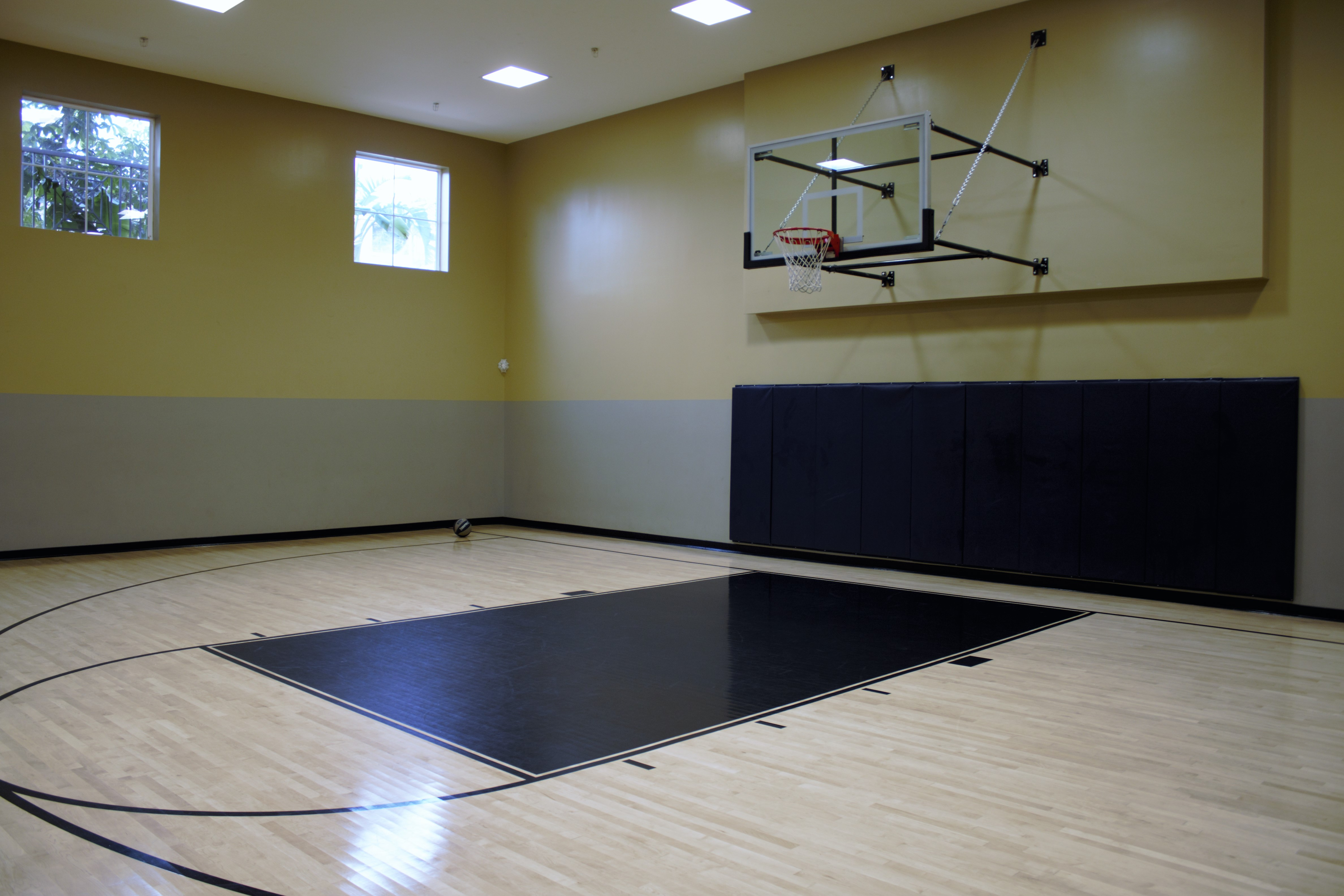 Half-court Basketball