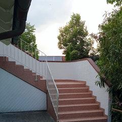 Kernsanierung einer Treppe im Aussenbereich