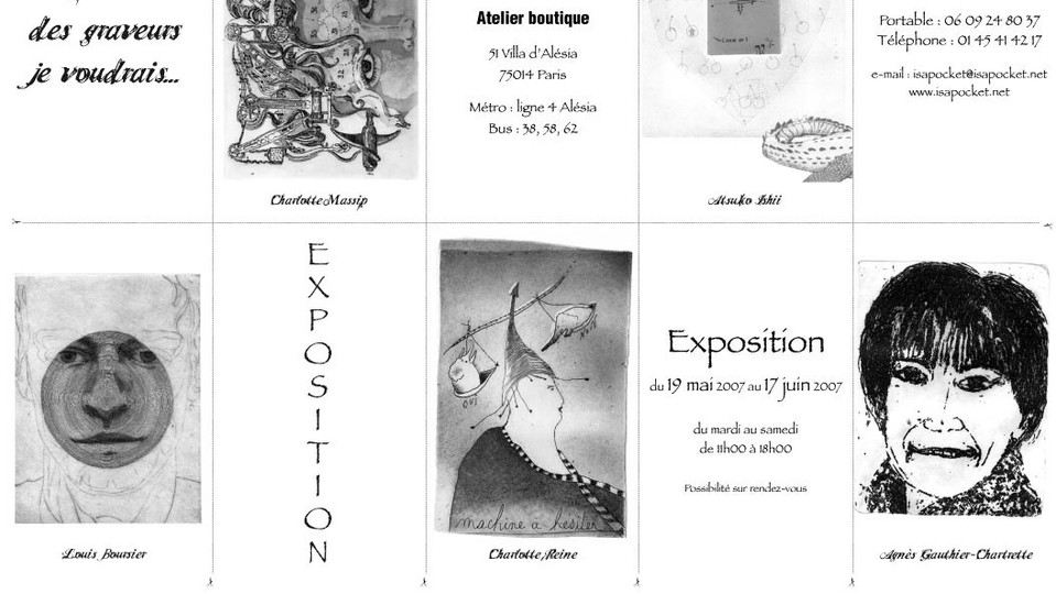 exposition mai 2007