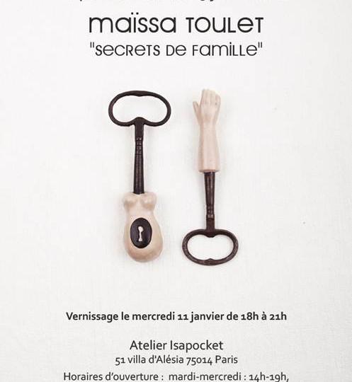 Maïssa Toulet chez Isapocket 2012