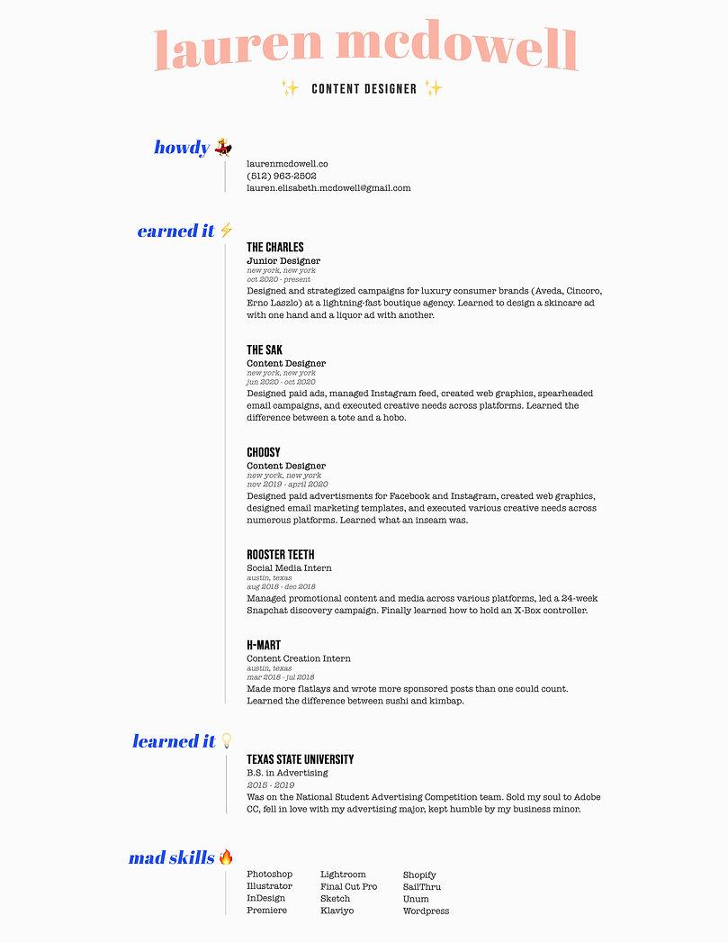 Resume 2020 _ Lauren McDowell.jpg