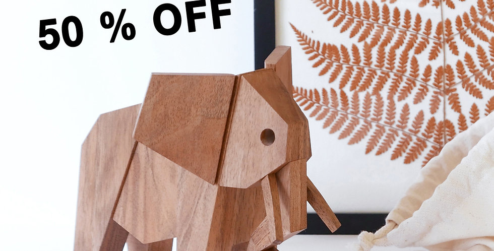 Elephant for WWF , for world elephant day