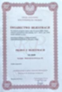 chowaj.com świadectwo rejestracji wzoru przemysłowego Pudełko Magazynowe