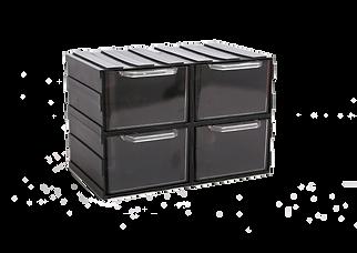 Zestaw szufladek w obudowie M 4