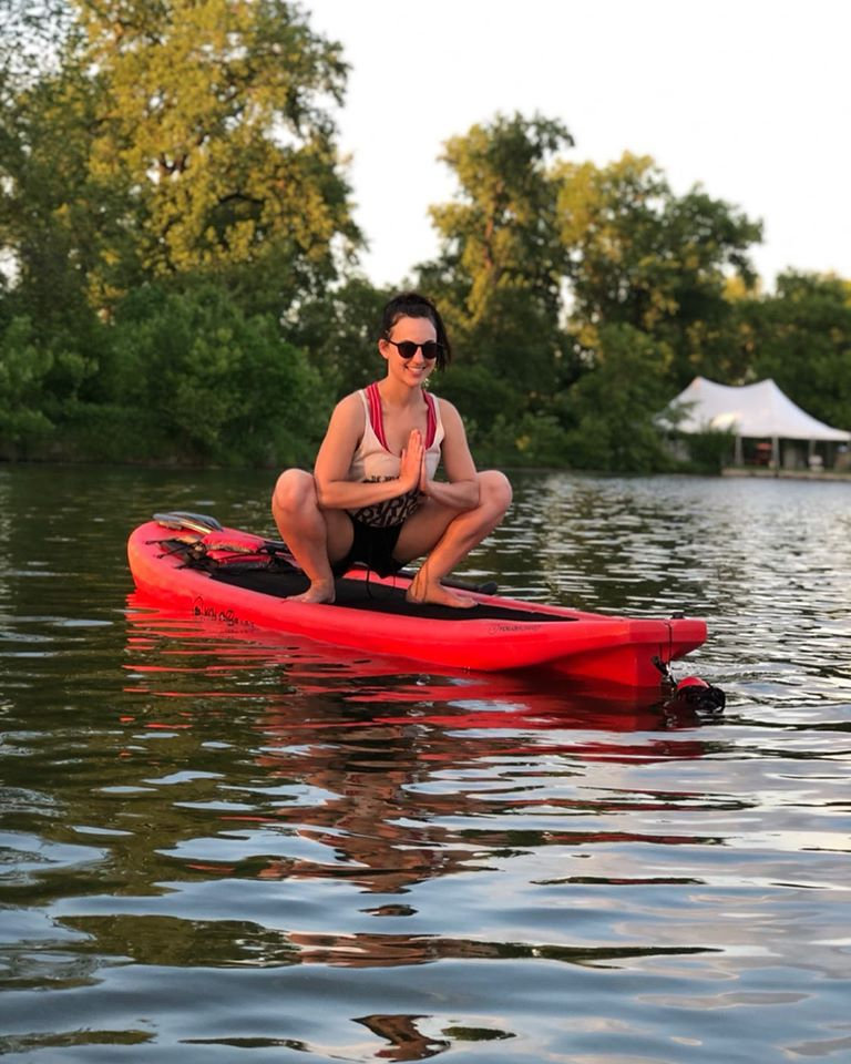 Sunset SUP Yoga in Forest Park