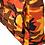 Thumbnail: Grand cabas intérieur isotherme en toile de coton imprimé camouflage-militaire