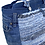 Thumbnail: Grand sac-cabas intérieur isotherme en denim et lirette