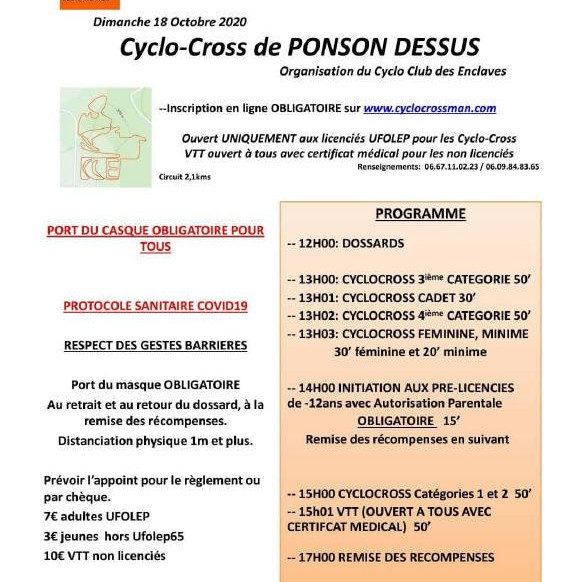 PONSONS-DESSUS CYCLO-CROSS