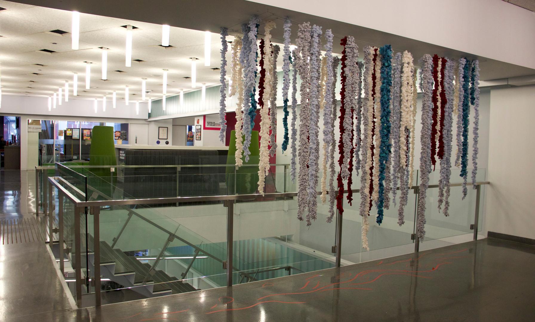 Installtion location: LeRoy Neiman Center 2nd floor, Chicago IL