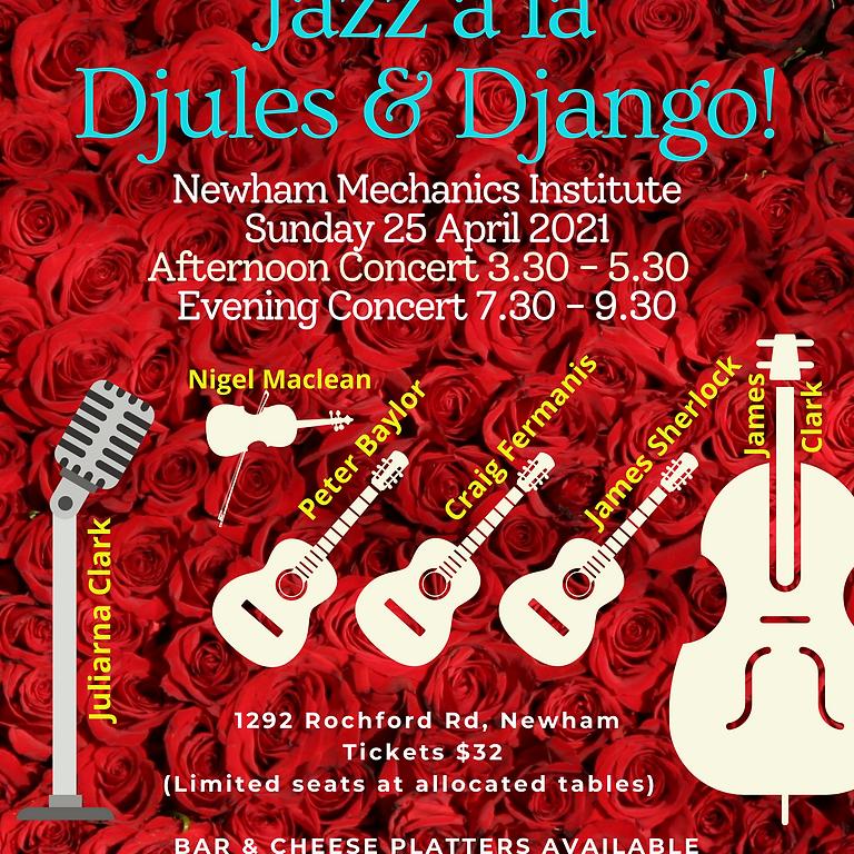 Jazz á la Djules & Django - Evening Concert