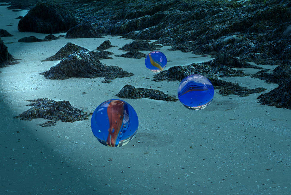 Marbles on the Beach