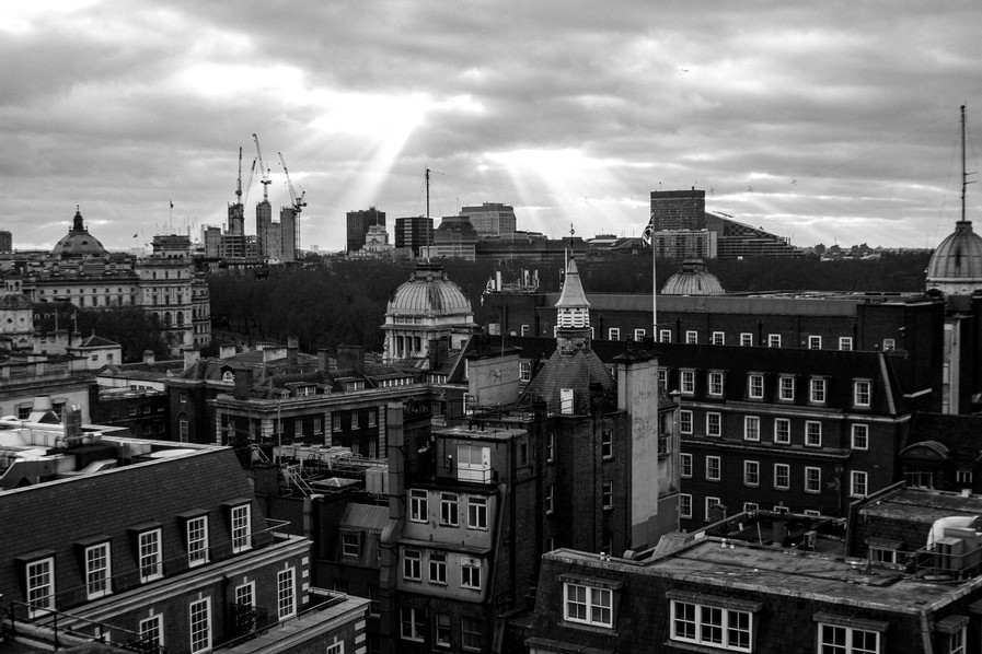 Rooftops Over London - W Niven