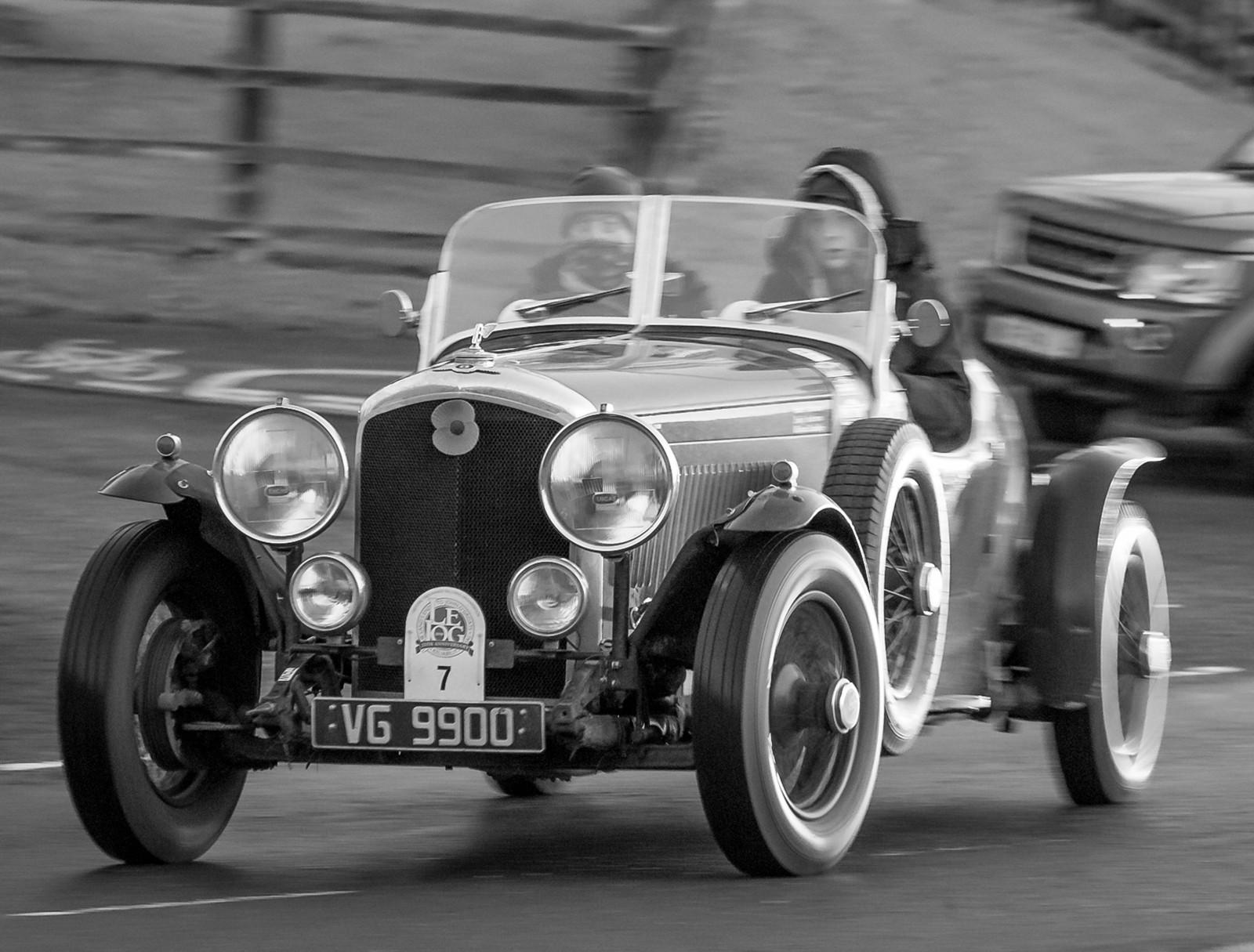 Speeding Bentley