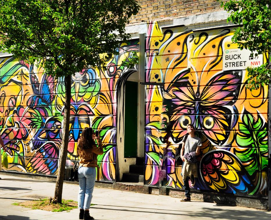 Camden street scene - W Hiddleston