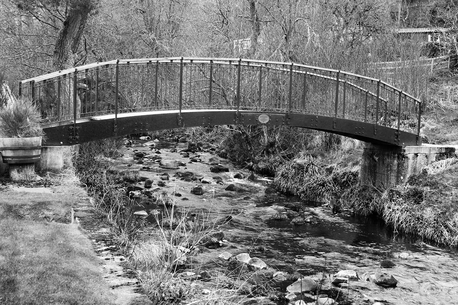 Bridge over the burn - B Gillespie