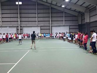 慶應一貫校テニス部合同 ライフスキルトレーニング