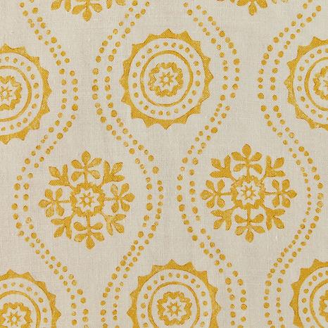 Tasha Textiles Honfleur Yellow