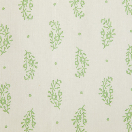 paisley sprig green