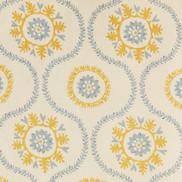 suzani blue yellow