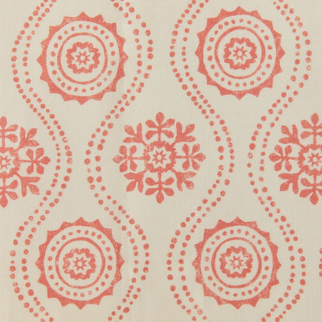 Tasha Textiles Honfleur Orange