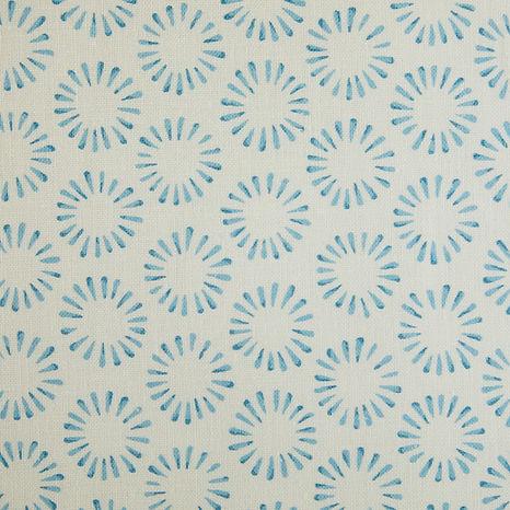Tasha Textiles Circles Blue