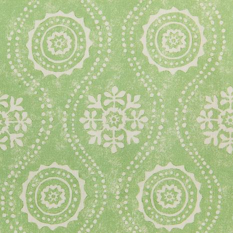 Tasha Textiles Honfleur Reverse Green
