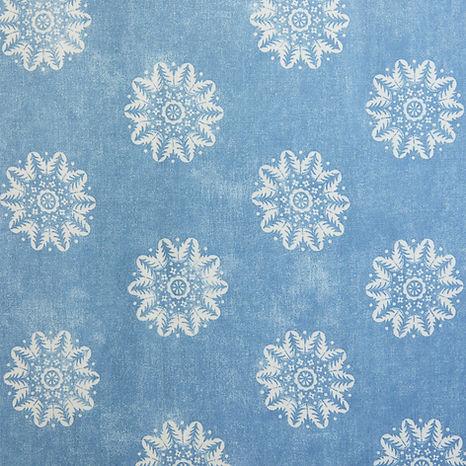 Tasha Textiles Nordic Reverse Blue