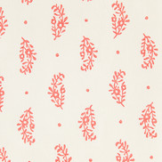 paisley sprig red