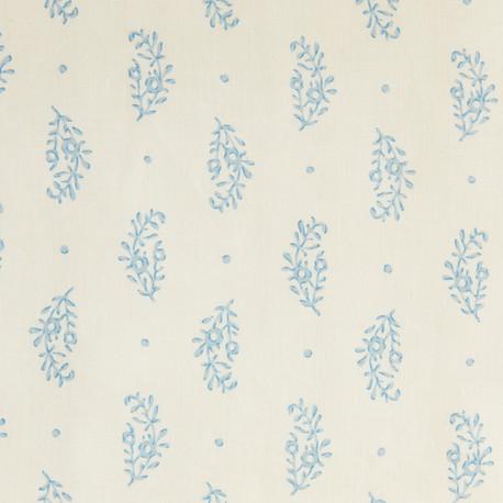 paisley sprig blue