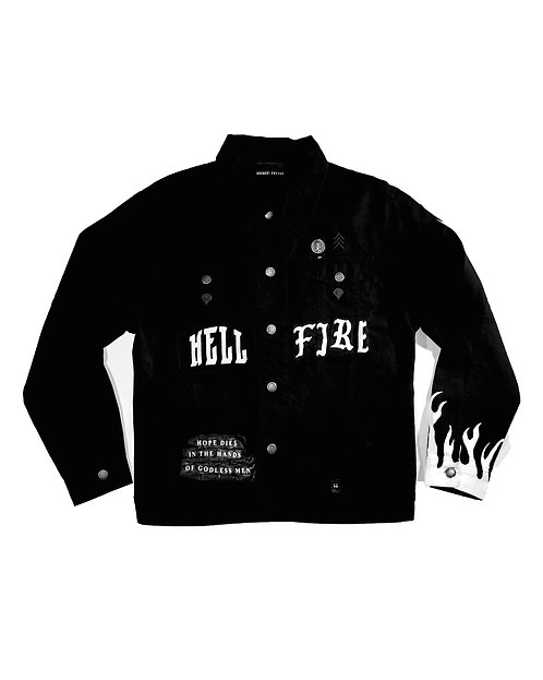 Hell Fire (One-Off Custom Jacket)