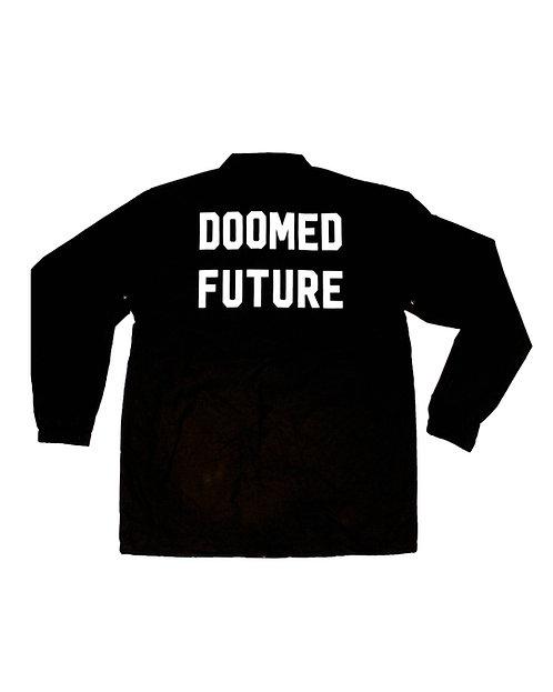 Doomed Future Security Windbreaker Jacket (front & back)