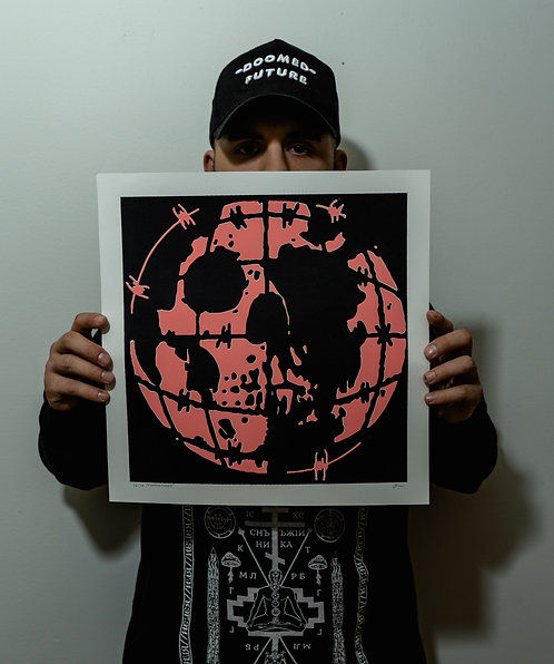 Doom Globe (Screen Print)