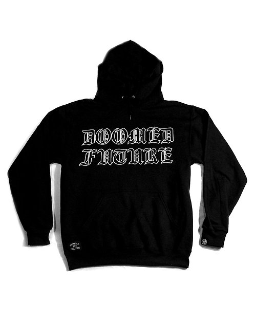 Gothic Embroidered Hoodie