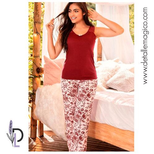 Pijama | Pantalón Flores