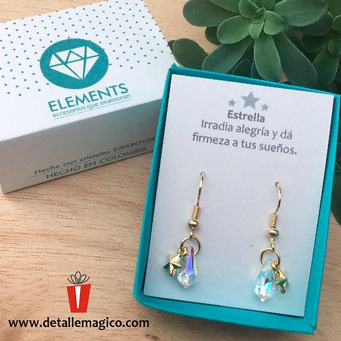 Aretes | Estrella & Cristal